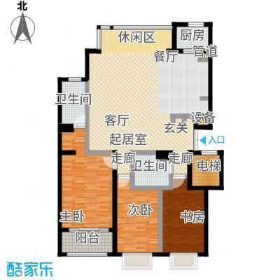新华联丽港3号楼A户型
