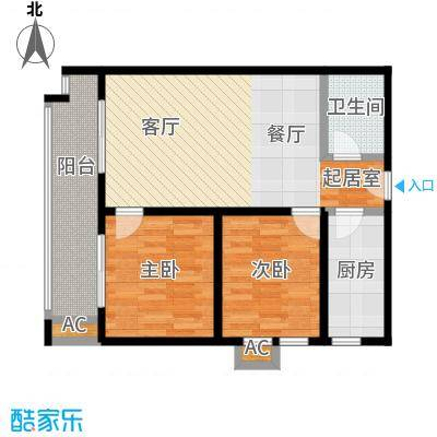 江枫雅居115.89㎡C户型