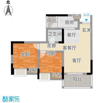 丽水菁苑栖景湾3号楼B1型(已售完)户型