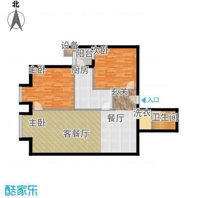 北京上舍105.90㎡3号楼B1059户型