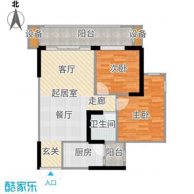 华宇・春江花月春江花月60.05㎡8号房户型