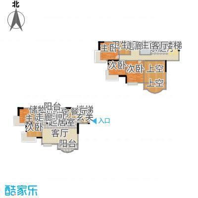 东方家园79.10㎡房型复式户型