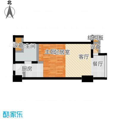 新华联丽港2号楼G户型