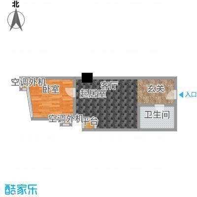 江州世纪英皇38.43㎡房型户型