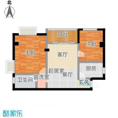 香榭豪庭79.71㎡房型户型