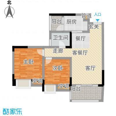 丽水菁苑栖景湾3号楼B型户型
