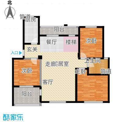 洪城比华利7、15、19、20#楼502复式底层户型