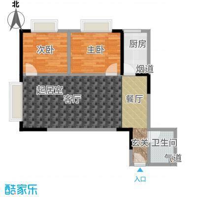 金江大厦65.68㎡――30套户型