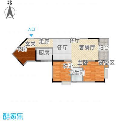 明发尚都国际4号楼A22号房户型