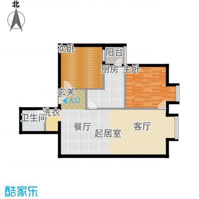 北京上舍105.20㎡1号楼B户型