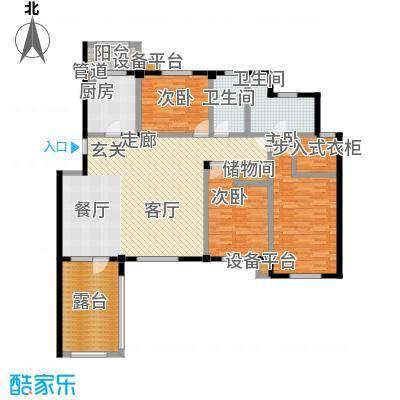 壹品漫谷户型3室1厅2卫1厨
