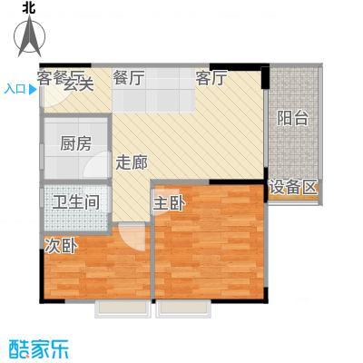 明发尚都国际4号楼C4、5号房户型