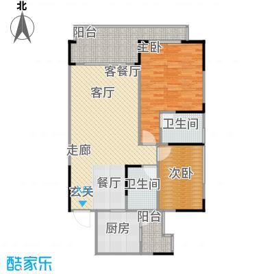 聚信广场55.17㎡房型户型