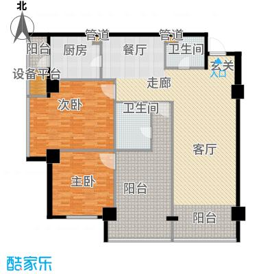 东方财富公寓173.03㎡C户型