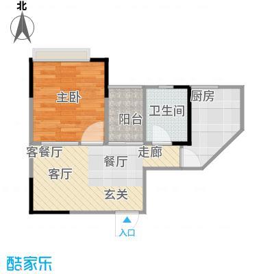 明发尚都国际4号楼D26号房户型