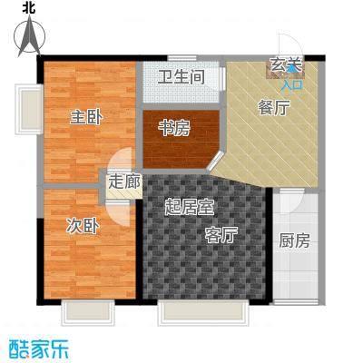 金江大厦82.36㎡――29套户型