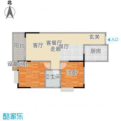 明发尚都国际4号楼A37号房户型