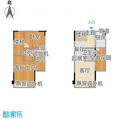 协能枫馨丽园63.40㎡复式-户型