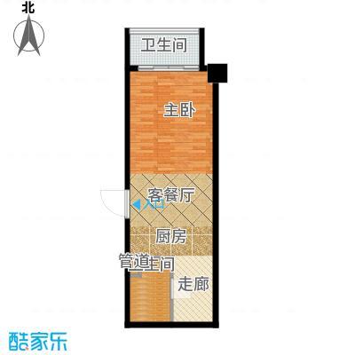 东方财富公寓51.60㎡G户型