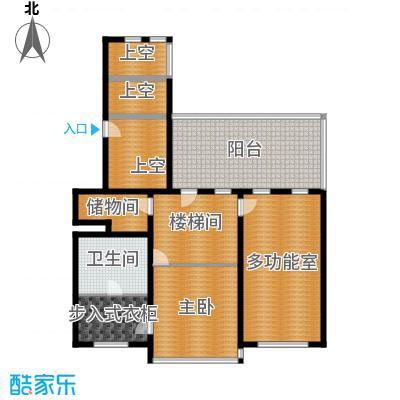 冠城・名敦道冠城园272.95㎡B5-7复式2层户型