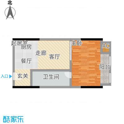 协信中心44.72㎡9号房户型-T