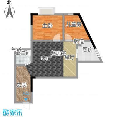 金江大厦55.68㎡――30套户型