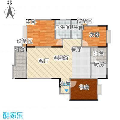 龙华苑92.19㎡房型户型