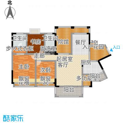 爱加・西西里爱加西西里G'1双卫+入户花园+多功能房户型