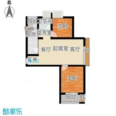 东渡国际青年城F方户型