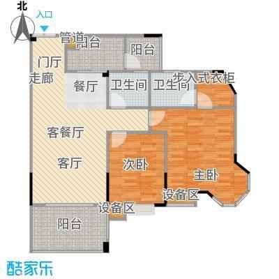 圣豪帝景户型2室1厅2卫