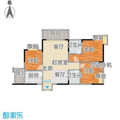 达飞玖隆城81.10㎡房型户型