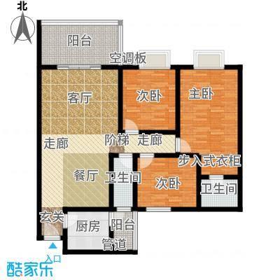 桃源芳居户型3室1厅2卫1厨