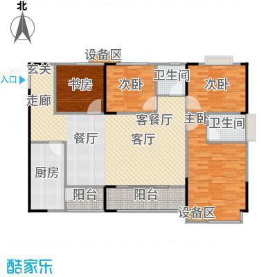 明发尚都国际3号楼A11号房户型
