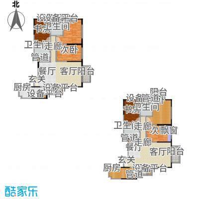 城市广场90.22㎡房型户型