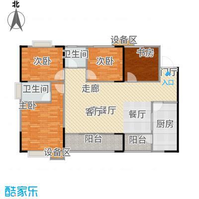 明发尚都国际3号楼A24号房户型