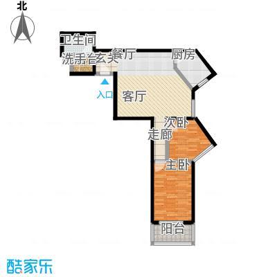 东环居苑92.94㎡8#楼G户型
