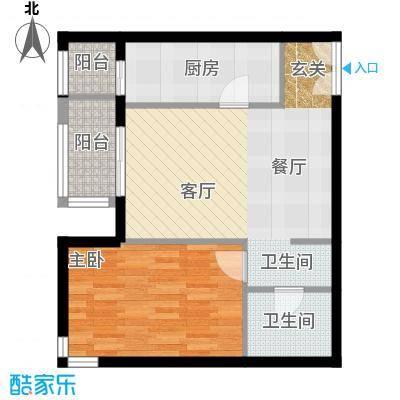 依莲轩二期73.13㎡A5户型