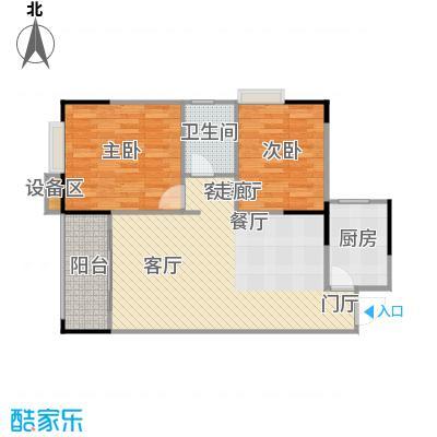 明发尚都国际3号楼C5、6号房户型