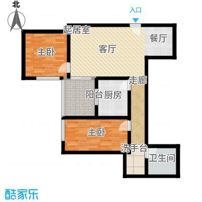 东环居苑101.54㎡8#楼C户型