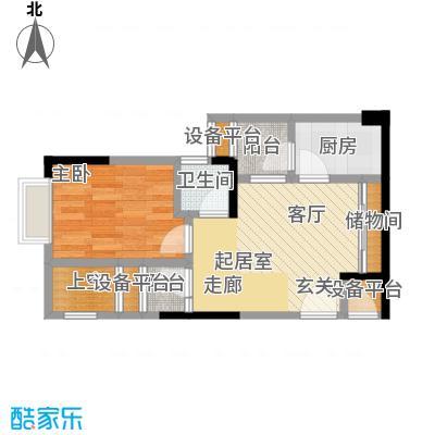 华宇老街印象34.32㎡-户型