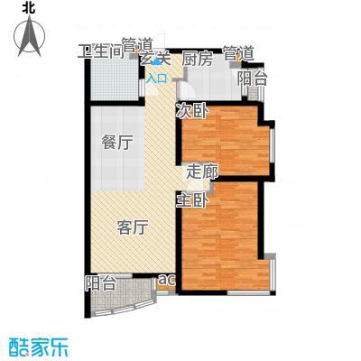 凯摩国际公寓100.00㎡房型户型