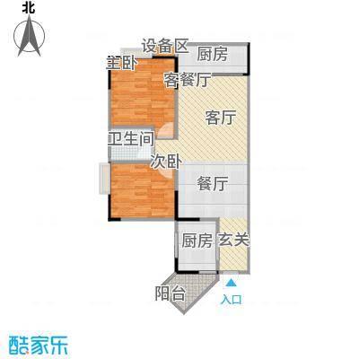 明发尚都国际2号楼A17号房户型