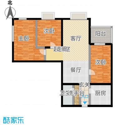 东环居苑98.52㎡8#楼A户型