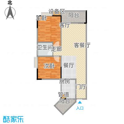 明发尚都国际2号楼A17号房6173户型