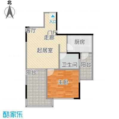 聚信广场31.40㎡房型户型