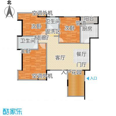 融科海阔天空Ⅱ期海阔天空融科海阔天空2期111.48㎡A/C/E栋1、2号楼户型
