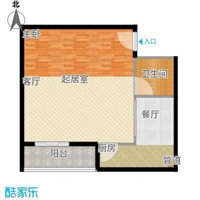 北京上舍81.02㎡一号楼G户型