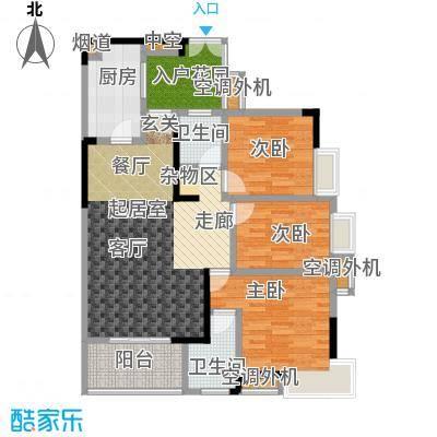 四季香山沛鑫・四季香山89.01㎡-户型