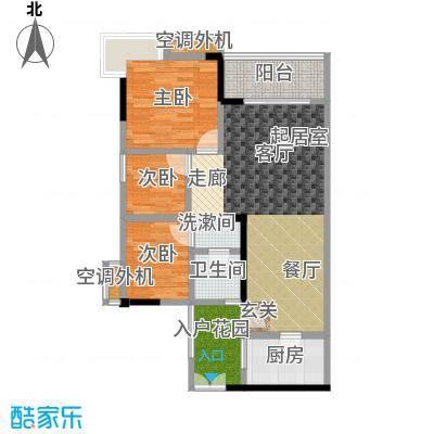 四季香山沛鑫・四季香山76.27㎡-户型