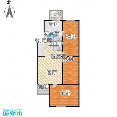 长椿苑152.34㎡户型